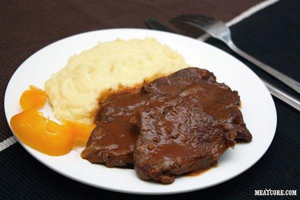 Пошаговые фото рецепты мясных салатов с фото простые и вкусные на