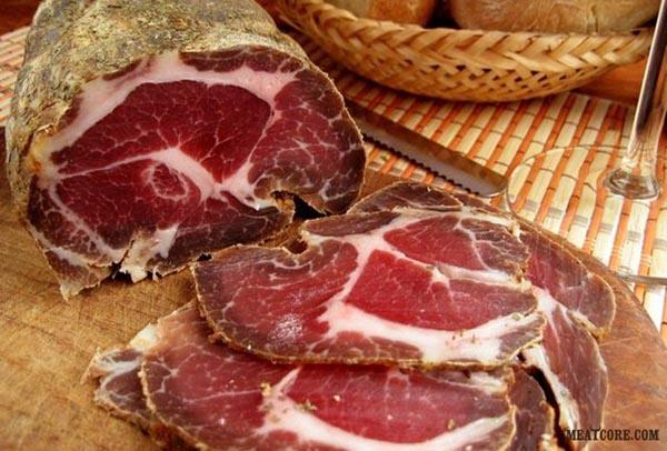 вяленое мясо дома рецепт с фото