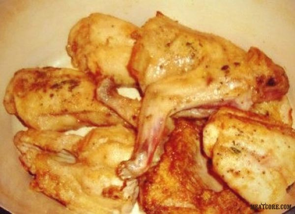 Рецепт курицы в сметане в духовке 65