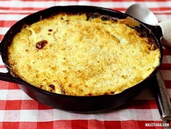 рецепт быстрой картофельной запеканки