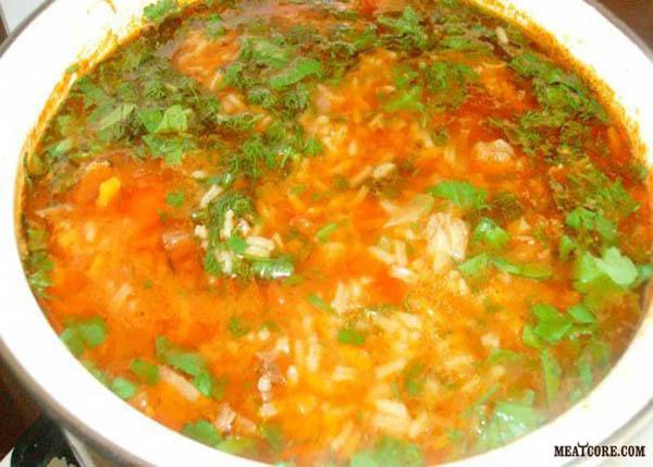 вкусный суп харчо рецепт