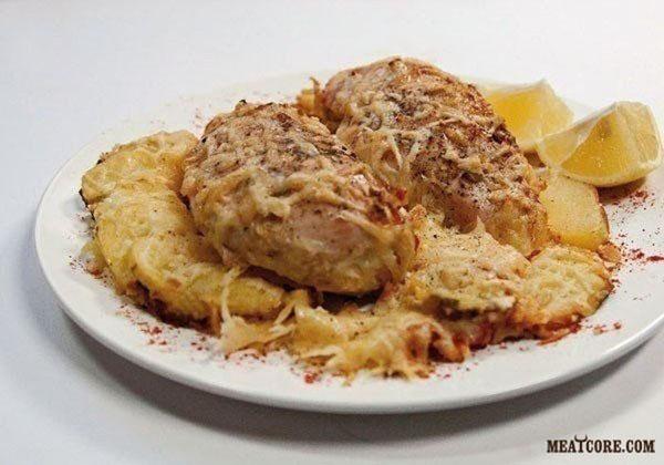 куриная грудка со сливками в духовке рецепты