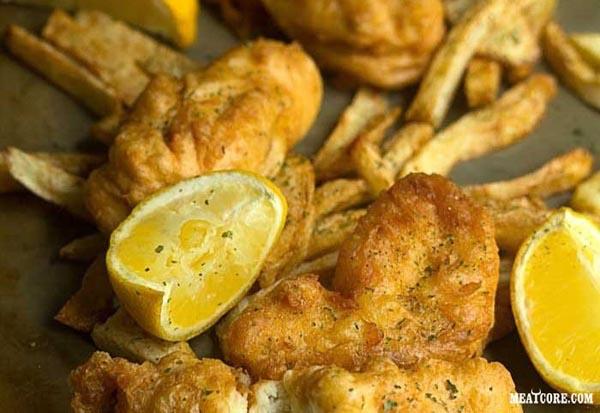 Fish and chips рецепт с пошагово