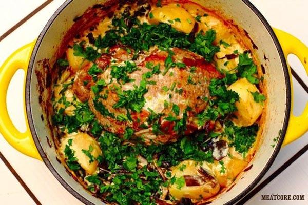 Рецепты горячего блюда для фуршета
