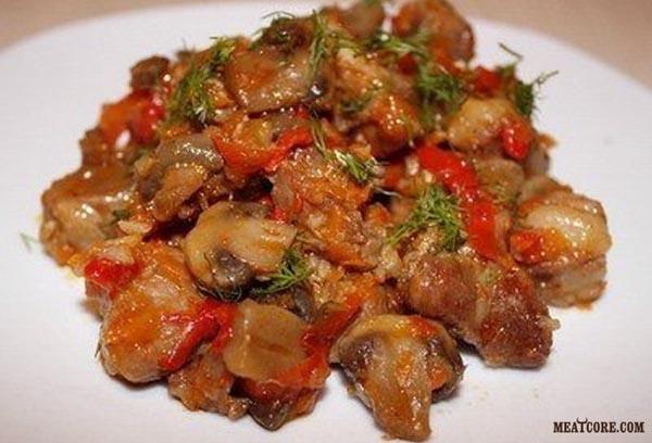 Низкокалорийные блюда из картофеля рецепты