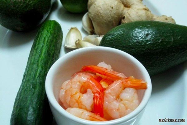 Салат С Креветками Самый Вкусный И Авокадо