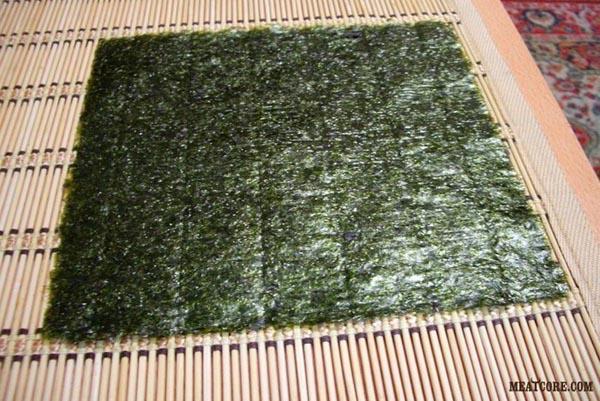 суши из красной рыбы