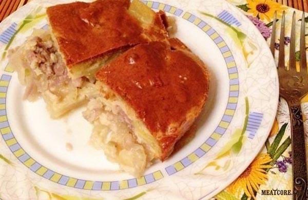 Рецепты с фило тестом с мясом