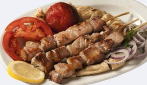 греческий шашлык